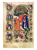 Add 18850 F.256V John of Lancaster, Duke of Bedford, at Prayer before St. George Giclee Print by  Master of the Duke of Bedford