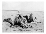 Father Paolo Rosignoli in Africa, C.1885 (B/W Photo) Giclee Print by  Italian Photographer