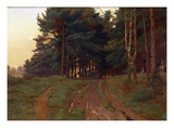 Silence Claimed Her Evening Reign, 1888 Giclee Print by Ernest Arthur Rowe