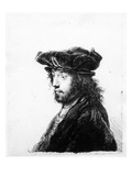 An Oriental Head, Etched by Rembrandt, C.1635 (Etching) Giclee Print by Jan The Elder Lievens