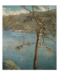 Spring at Cadenabbia (Oil on Canvas) Giclee-vedos tekijänä John Collier