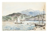 Port Vendres (W/C on Paper) Giclee Print by Johan-Barthold Jongkind