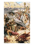 The Brazen Serpent Giclee Print by Harold Copping