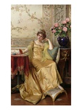 Meditation (Oil on Canvas) Giclee Print by Joseph Frederick Charles Soulacroix