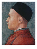 Portrait of a Man Giclee Print by Andrea Mantegna