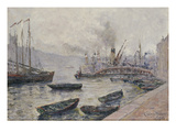 London Bridge, 1904 (Oil on Canvas) Giclee Print by Adolphe Clary Baroux