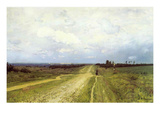 The Vladimirka Road, 1892 (Oil on Canvas) Giclee Print by Isaak Ilyich Levitan