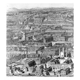 A Prospect of the City of London, 1710 (Engraving) Giclee Print by Johannes Kip