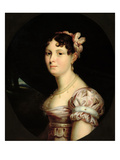 Portrait of Catherine of Wurtemberg (1783-1835) Queen of Westphalia, C.1810 (Oil on Canvas) Reproduction procédé giclée par Francois Josephe Kinson