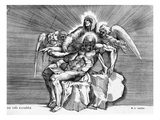 Pieta, Engraved by Giulio Sanuto (Engraving) Giclee Print by  Michelangelo Buonarroti