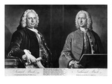 The Buck Brothers, Engraved by Richard Houston, 1774 (Engraving) Giclee Print by Joseph Highmore