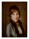 Portrait of a Young Woman Giclee Print by Louis Leopold Boilly