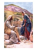 The Well of Sychar Giclee Print by Harold Copping