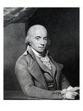 Muzio Clementi, 1794 (Engraving) Giclee Print by Thomas Hardy