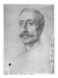 Alfred Drury, 1899 (Black Lead on Paper) Giclee Print by Alphonse Legros