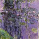 Nympheas, 1916-19 (Oil on Canvas) Giclee Print by Claude Monet