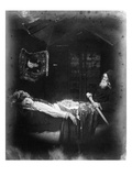 The Death of Elaine, Illustration from 'The Idylls of the King' by Alfred, Lord Tennyson, 1875 Giclee Print by Julia Margaret Cameron