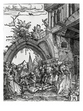 The Beheading of St. John the Baptist, 1512 (Woodcut) Giclee Print by Albrecht Altdorfer