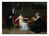 The Salucci Family, 1800 Giclee Print by Louis Gauffier