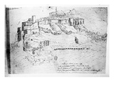 Athens, 1791 (Pen and Ink Drawing) Giclee Print by  French