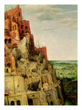 The Tower of Babel (Detail of 345) Giclee Print by Pieter Bruegel the Elder