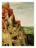 The Tower of Babel (Detail of 345) Giclee Print by Pieter the Elder Bruegel