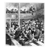Ned Wright's Thieves' Supper, Published in 'The Graphic' Illustrated Newspaper Saturday Giclee Print by  English