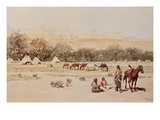 Indian Encampment, Denver, Colorado Giclee Print by Henry Francois Farny