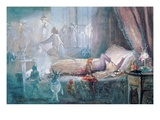 The Stuff That Dreams are Made of (W/C on Paper) (See also 109712) Premium Giclee Print by John Anster Fitzgerald