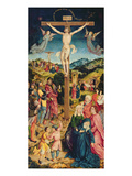 Christ on the Cross (Oil on Panel) Giclee Print by Goossen Weyden