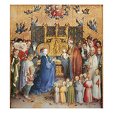 The Presentation of Christ in the Temple, 1447 (Oil on Panel) Giclee Print by Stephan Lochner