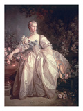 Madame Bergeret, 1746 Giclee Print by Francois Boucher