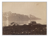 Tromsu Amt, Panorama of Lyngenkjeden, 1892 (Albumen Print) Giclee Print by  Norwegian Photographer