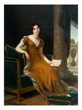 Portrait of Yelizaveta Demidova, c.1805 Giclee Print by Robert Lefevre