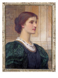 Portrait of Kate Dickens, Wife of the Artist Giclee Print by Charles Edward Perugini