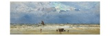 Home Again, c.1880 Giclee Print by William Lionel Wyllie