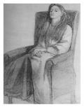 Elizabeth Siddal, C.1853 (Graphite on Paper) Giclee Print by Dante Charles Gabriel Rossetti