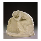 The Deserted Lover, 1904 (Marble) Giclee Print by Harald Sorensen-Ringi
