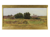Keynsham, Gloucestershire (Oil on Canvas) Giclee Print by Heywood Hardy