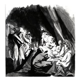 Death of Cardinal Beaufort, Illustration from Shakespeare's 'Henry Vi', 1772 Giclee Print by Henry Fuseli
