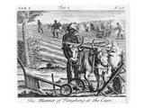 The Manner of Ploughing at the Cape Giclee Print by  German