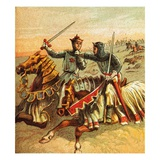 After the Battle of Crecy Giclee Print by  English