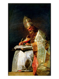 St. Gregory the Great, 1795-99 Giclee Print by Francisco de Goya