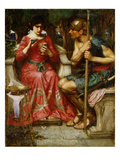 Jason and Medea, 1907 Giclee Print by John William Waterhouse