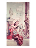 Rinaldo and Armida Giclee Print by Giovanni Battista Tiepolo