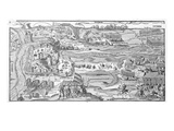 The Siege of Polotsk in 1579 (Engraving) Giclee Print by Georg the elder Mack
