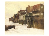 Sketch for 'London River', c.1875 Giclee Print by Charles Napier Hemy