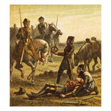 Death of Richard Iii Giclee Print by  English
