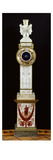 Geographic Clock, Sevres Workshop, 1813-21 (Carved Porcelain and Bronze) Giclee Print by  French