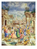 Adoration of the Magi, C.1588 (Vellum) Giclee Print by  B.C. Monogram